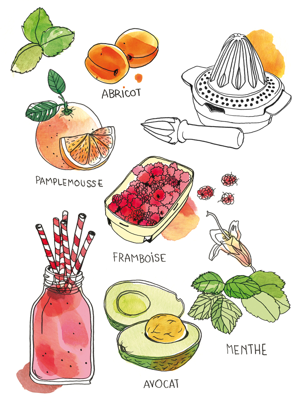 Mes cures de jus et smoothies